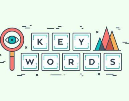 Na czym polega dobieranie odpowiednich słów kluczowych?
